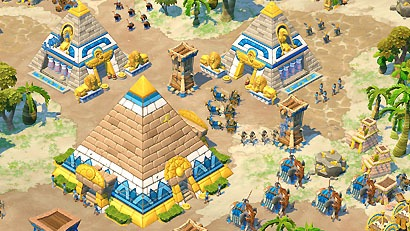 Age of empires online Egyptian civilization